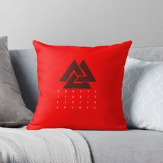 'Norse Mythology - Runes' Throw Pillow by Bad Box Floor Pillows, Throw Pillows, Norse Mythology, Runes, Art Boards, Finding Yourself, Box, Design, Cushions
