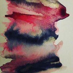#test #colors #rangeofcolors #pink #blue #black #gold #lightgold #gansaitambi #kuretake  #watercolors