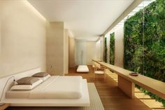 waterfront villas | Sandy Island, Singapore | Claudio Silvestrin