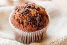 Oz: Healthy Pumpkin Chocolate Chip Muffins: Start your morning off with this sweet recipe.
