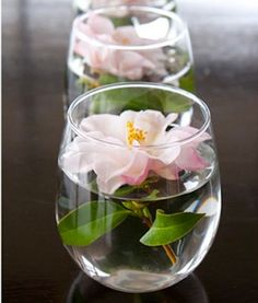 Floating Centerpieces - Love!!