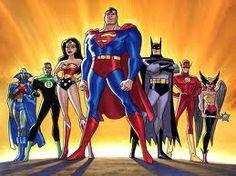 The Justice League.  Another fave when I was a kid.  Loved the Wonder Twins!
