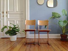 Vintage Stühle - ☘ Vintage AMA Casala Stuhl Schulstuhl 50er 60er - ein Designerstück von ILoveSparrows bei DaWanda
