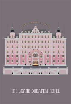 grand budapest hotel movie poster postcard by Poster Wall, Poster Prints, Art Prints, Anderson Movies, Wes Anderson, Grand Budapest Hotel Poster, Hotel Budapest, Film Poster Design, Hotel Logo