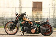 Jever Custombike 2014 von Thunderbike