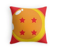 Goku: Throw Pillows | Redbubble - All dragon balls are available, but the four star is essential. The one which was Grandpa Gohan's; the last momento Goku had of him, and wanted to protect.