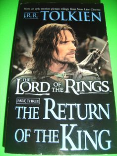 The Return of the King Pt. 3 by J. R. R. Tolkien 2007 Paperback MOVIE TIE-IN