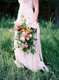 Simple and Organic Wedding Inspiration