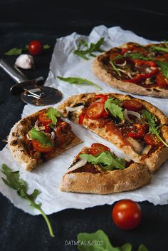 The perfect vegan pizza