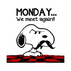 Check out this awesome 'Monday+Snoopy' design on Snoopy Cartoon, Peanuts Cartoon, Peanuts Snoopy, Charlie Brown Quotes, Charlie Brown And Snoopy, Snoopy Images, Snoopy Pictures, Snoopy Quotes, Joe Cool
