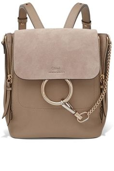 The 15 best designer backpacks to shop even if your not going back to school: Chloé.