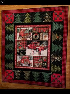 Fabric Panel Quilts, Strip Quilts, Mini Quilts, Christmas Sewing Projects, Christmas Quilt Patterns, Christmas Quilting, Bright Quilts, Colorful Quilts, Quilting Projects