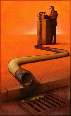 SATIRE ILLUSTRATION - Polish artist Pawel Kuczynski creates thought-provoking illustrations that comment on social, economic, and political issues through satire. Fotojournalismus, Satirical Illustrations, Art Illustrations, Political Art, Political Speeches, Political Reform, Political Discussion, Political Events, Political Issues