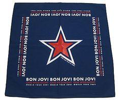 Bon Jovi bandana from the One Wild Night tour. f717c3b6597d