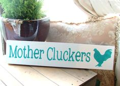 Custom chicken coop signs on Etsy  https://www.etsy.com/listing/89926713/your-own-custom-sign-personalized-farm?ref=shop_home_feat_1