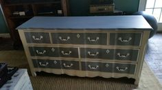 French provential dresser turned drab to fab by Elegant Interiors by Cyndi