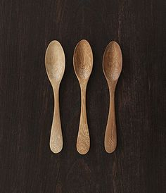 Wood Honey Spoons by Kirsten Hecktermann