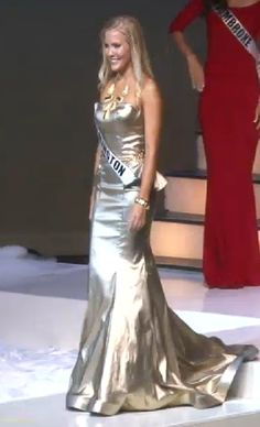 Miss North Carolina USA 2015 Evening Gown: HIT or MISS? http://thepageantplanet.com/miss-north-carolina-usa-2015-evening-gown/