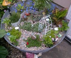 Украшаем сад – садовые миниатюры - Ярмарка Мастеров - ручная работа, handmade