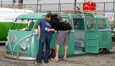 ✪A verrrrryyyyy low kombi Volkswagen Transporter, Volkswagen Bus, Vw T1, Vw Camper, T1 Samba, T2 Bus, Short Bus, Wheels On The Bus, Vintage Vans
