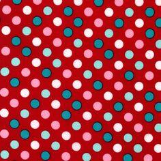 Punainen moniväripilkku