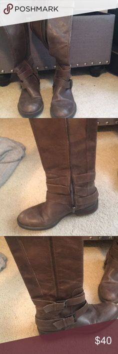Riding boots Classic brown riding boots Shoes Combat & Moto Boots