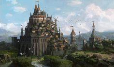 ArtStation - fortress, Lee b