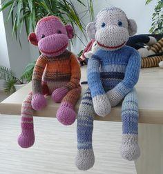Very cute sock monkey pattern!