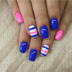 Lovely lines nail art designs 2019 nail designs for short nails 2019 holiday nail stickers nail art stickers at home best nail stickers 2019 nail designs nail designs 2019 nail stickers walmart nail art stickers at home best nail wraps 2019 Fingernail Designs, Colorful Nail Designs, Fancy Nails, Diy Nails, Nagellack Design, Pretty Nail Art, Cute Acrylic Nails, Fabulous Nails, Stylish Nails