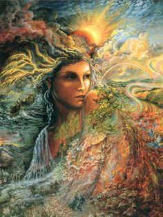 spirit of the elements ~Josephine Wall