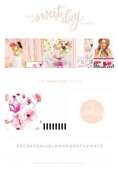 One Sweet Day in May Brand Elements by Ashlee Proffitt
