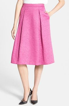 Chelsea28 Full Pleat Skirt available at #Nordstrom