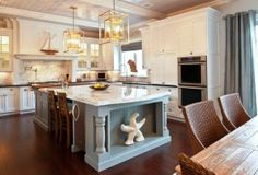 Stunning Nantucket style kitchen