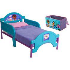 Disney - Doc McStuffins Toddler Bed & Storage Trunk Bundle