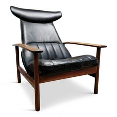 Recliner chair by Sven Ivar Dysthe for Dokka Möbler, 1950s