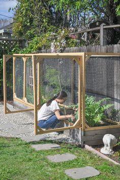 Diy Garden Bed, Garden Yard Ideas, Veg Garden, Vegetable Garden Design, Edible Garden, Lawn And Garden, Garden Projects, New Build Garden Ideas, Small Garden Raised Beds