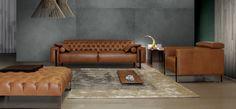La comodidad y estilo del sofá Niobe, de la firma Italiana Calia Italia, harán de tu espacio un lugar único.