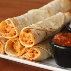 Chicken Flautas Recipe - Key Ingredient -- easy