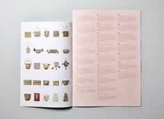 Gallery #guide designed by #CharlieSmith Design for the #SimoneHandbagMuseum #layout