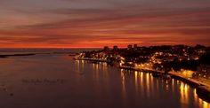 Nightime in Porto New York Skyline, River, World, Beach, Outdoor, Port Wine, Te Quiero, Good Night, Outdoors