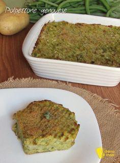 verticale_Polpettone genovese di patate e fagiolini ricetta ligure e vegetariana con video il chicco di mais