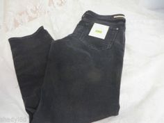 ANTHROPOLOGIE PILCRO AND THE LETTER PRESS NO 30 Fit/STET Black NWT Jeans Pants