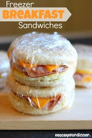 Freezer Breakfast Sandwiches Why, hello, easy breakfast-on-the-go! Via Eat Cake For Dinner: Homemade Freezer Breakfast SandwichesWhy, hello, easy breakfast-on-the-go! Via Eat Cake For Dinner: Homemade Freezer Breakfast Sandwiches Breakfast And Brunch, Breakfast On The Go, Breakfast Dishes, Breakfast Recipes, Frozen Breakfast, Breakfast Muffins, Homemade Breakfast, Tofu Breakfast, Meal Prep Breakfast