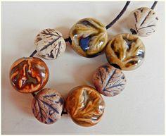 """11 bolas de gres """" otoño """" de MAJOYOAL por DaWanda.com"""