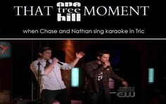 Chase Adams. Stephen Colletti. One Tree Hill. OTH. Nathan Scott. James Lafferty. That One Tree Hill Moment.