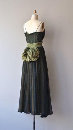 Belle Laide dress vintage 1940s dress tulle Fred by DearGolden