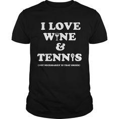 Get yours beautiful Wine and Tennis Tee Best Gift Shirt Shirts & Hoodies.  #gift, #idea, #photo, #image, #hoodie, #shirt, #christmas