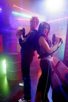 Marry someone you can play laser tag with, and feel, all the time, that you can truly lose yourself in the game, or completely lose the game, and still feel totally unselfconscious. Aww, heck! Marry someone you can just have fun with, no matter what you do! :) - Barney & Robin; How I Met Your Mother