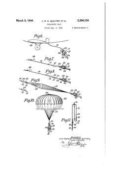 Patent US2396126 - Parachute pack - Google Patents
