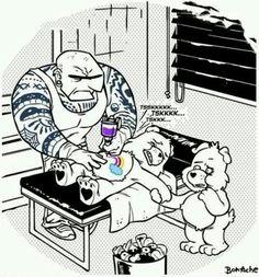How the bears got their cares lol